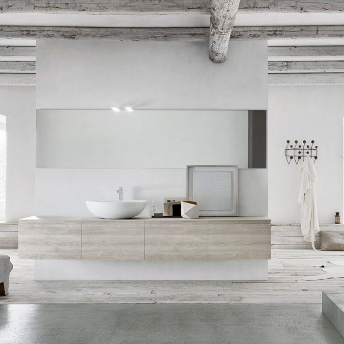 Paganelli home bathroom rivenditore linfa bagno moderno arbi arredobagno
